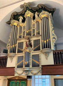 Hervormde kerk Zwartsluis orgel