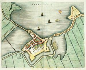 Fortresse Swartesluys - Bleau