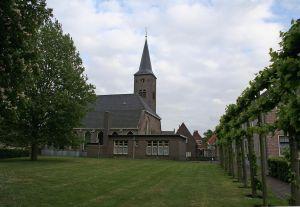 Hervormde kerk Zwartsluis exterieur