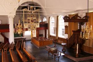 Hervormde kerk Zwartsluis interieur