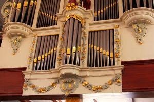 Hervormde kerk Zwartsluis orgel detail