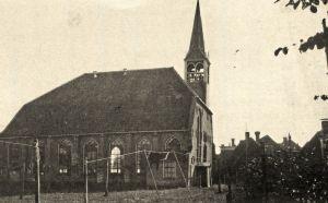 Oude toren Zwartsluis voor 1930