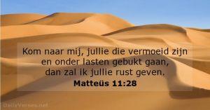 Jezus geeft rust