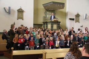 Verslag gezamenlijke kinderdienst 11 november