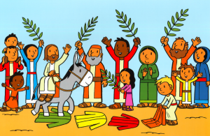 Online kerkdienst op Palmzondag