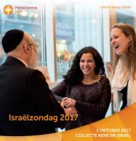 Collectedoel 1 oktober Israëlzondag