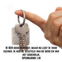 Jezus heeft de sleutels