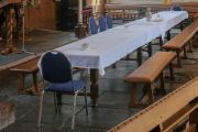 Avondmaal tafel